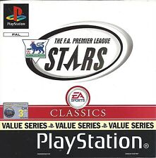 THE F.A. PREMIER LEAGUE STARS for Playstation 1 PS1 - PAL