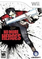 No More Heroes (Nintendo Wii, 2008) -- FREE SHIPPING!!