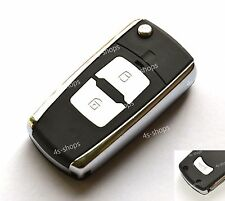 Flip Remote Key Case Shell For HYUNDAI Tucson Santa Fe Accent 2 Button + Panic