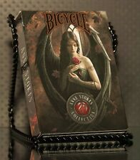 Bicycle Anne Stokes Playing Cards Deck 1 and Deck 2 Dark Hearts - Both together