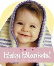 Knit Baby Blankets! Gwen Steege Hardcover Like New Free Shipping