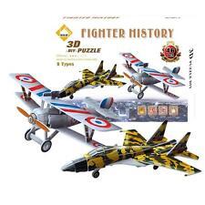 Puzzle 3D Maquette Jeux Jouet Educatif DIY Mini Avions 46 Pièces Cadeau
