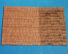 SHAKE SHINGLES O On30 Model Railroad Structure Laser Wood Detail RSL1920
