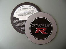 Magnetic Tax disc holder fits any honda type r