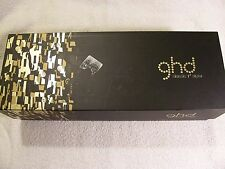 GHD 1-inch Classic Ceramic Hair Styler Flat Iron Straightener Black OPEN BOX