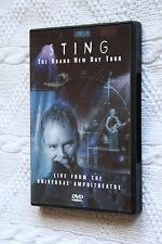 STING THE BRAD NEW DAY TOUR (DVD+BOOKLET)R-ALL, LIKE NEW, FREE POST IN AUSTRALIA