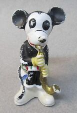 rare German bisque MICKEY MOUSE Saxophone Player 1930's bisque figure Disney
