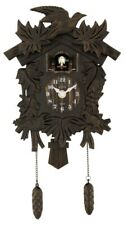 Trenkle Kuckulino Small Black Forest Clock with Quartz Movement and Cuckoo Chime TU 2028 PQ