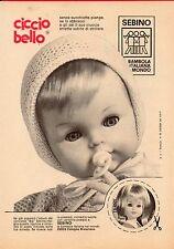 ▬►Pubblicità Advertising Werbung 1971 Ciccio Bello SEBINO