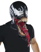 VENOM SPIDER MAN Adult Size FULL Overhead Latex Costume Mask Marvel Comics New