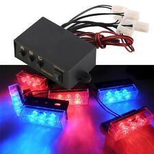 6 Ways LED Strobe Flash Light Lamp Emergency Flashing Controller Box 12V XC