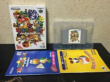 Mario Party Nintendo 64 Japan NTSC-J Nintendo N64 Hudson Soft boxed set