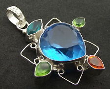 Unique Andara Crystal Set Pendant 925 Silver COA Design 9