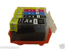 5 ink cartridges for CANON BCI-3eBK BCI-6 ip4000 MP750 ip5000 ip4000R BJC-i860