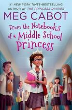 NEW From the Notebooks of a Middle School Princess-Meg Cabot-paperback