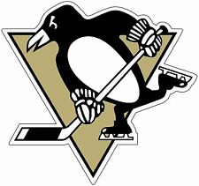 "Pittsburgh Penguins  NHL Hockey  bumper sticker decal 5"" x 4.7"""