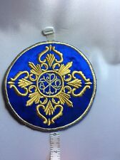 Orthodox Christian Byzantine embroidered Ripidion Chalice Cover Liturgical Fan