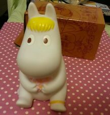 Moomin Characters Snork Maiden Plastc Figure Coin Money box Saving Bank1