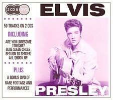 2 CD BOX plus DVD ELVIS PRESLEY ARE YOU LONESOME BLUE SUEDE SHOES ALL SHOOK UP