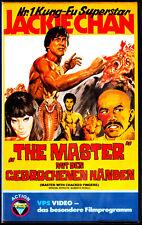 """VHS - """" The MASTER mit den gebrochenen Händen """" (1973) - Jackie Chan"""