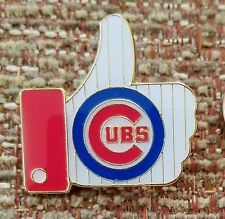 "CHICAGO CUBS ""LIKE"" Thumbs Up Lapel PIN"