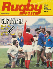 RUGBY POST May 1984 ENGLAND MAGAZINE