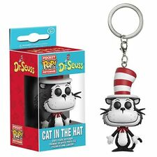 FUNKO DR SEUSS CAT IN THE HAT POCKET POP! KEY CHAIN 12456