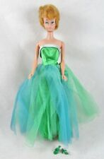 Blonde Bubblecut Barbie in Senior Prom #951 Classic Gown Prom Dance 1963 Vintage