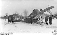 German Luftwaffe Fieseler Storch Russia 1944 World War 2 Reprint Photo 6x4 Inch