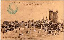 CPA Paris 6e Paris-Restitution d'un coin de la Foire St-Germain (312271)