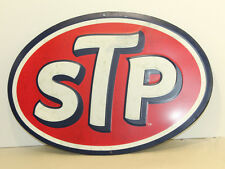 STP MOTOR OIL METAL SIGNS MAN CAVE DRCOR GAS STATION ADVERTISING DISPLAY DAD
