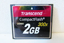 Transcend CompactFlash UDMA 300x - 2GB card, shopstock