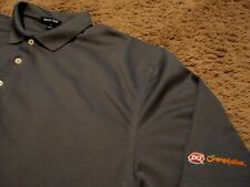 Men's ~ DQ Dairy Queen ~ Orange Julius ~ Polo Uniform Employee Novelty Shirt XL
