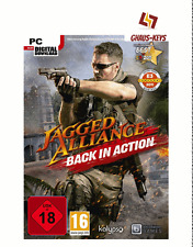 Jagged Alliance-BACK in Action Steam Key PC GAME codice Global [SPEDIZIONE LAMPO]