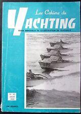 BATEAUX VOILES PLAISANCE LES CAHIERS DU YACHTING N° 92 de 1959 PLAN  MEROU