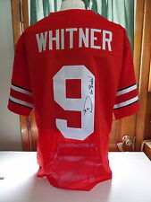 Donte Whitner signed Ohio State Jersey,  COA, #9, Go Bucks!