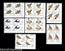 Madagascar 1991 MNH 7v Plate Blk  Rt. L, Birds, Eagle, Swallow, Harrier - Bi16