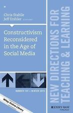 J-B TL Single Issue Teaching and Learning: Constructivism Reconsidered in the...