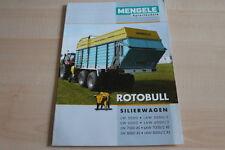128156) Mengele Rotobull Silierwagen Prospekt 10/2009