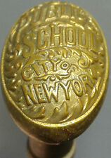 City of New York Public School Doorknob Cane (Walking Stick)