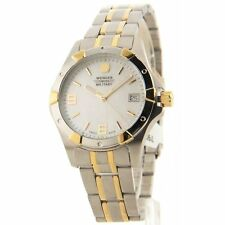 Wenger Standard Issue Three-Hand Stainless Steel Two-Tone Women's watch 79093