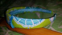 "LILLY PULITZER   1"" Wide  Cotton Fabric Headband   ""BEACHY""    NWOT"