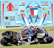 1/12 COLIN  EDWARDS YAMAHA M1 INDIANAPOLIS 2010 DECALS TB DECAL TBD94