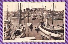 Carte Postale - CANNES - le Port