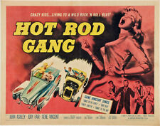 Hot-Rod Gang Movie Poster Replica Print 14 x 11""