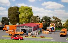 Faller Highway Maintaince Depot with Accessories 120257
