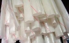 5pcs 1m Long 4mm Electrical Wire Fiberglass Insulation Sleeving