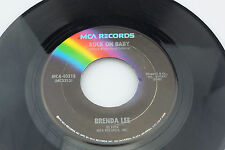 Brenda Lee: Rock on Baby / More Than a Memory [Unplayed Copy]