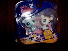 LITTLEST PET SHOP #646 & #647 POLAR BEAR TWINS BOX RETIRED 2007 NEW