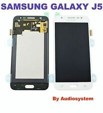 GLS: DISPLAY LCD+TOUCH SCREEN ORIGINALE per SAMSUNG GALAXY J5 SM-J500FN BIANCO